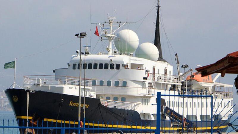 Alanya'da kruvaziyer gemi sürprizi