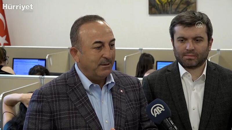Dışişleri Bakanı Mevlüt Çavuşoğlu açıklamalarda bulunudu