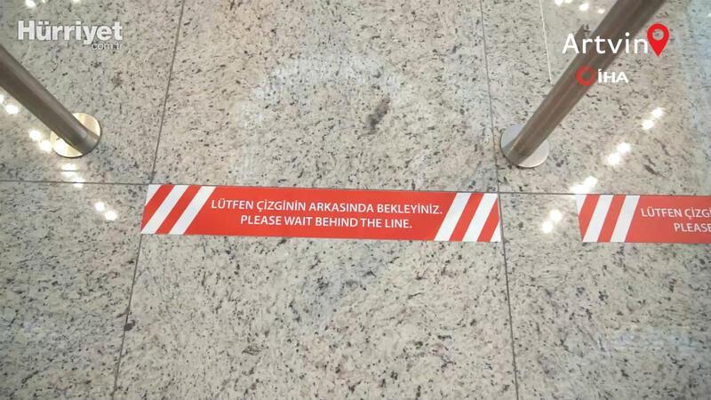 """İstanbul Havalimanı'nda """"Kırmızı Bant"""" uygulaması"""