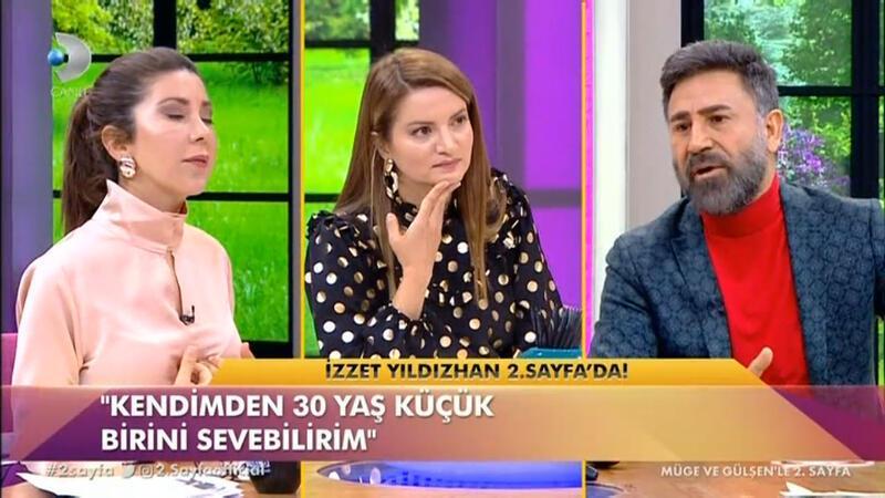 İzzet Yıldızhan'dan çok tartışılacak sözler: Ben 20 yaş küçük birini sevebilirim ama kızım 20 yaş büyük birini sevemez!