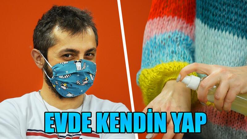 Evde maske, kolonya ve dezenfektan yapımı!