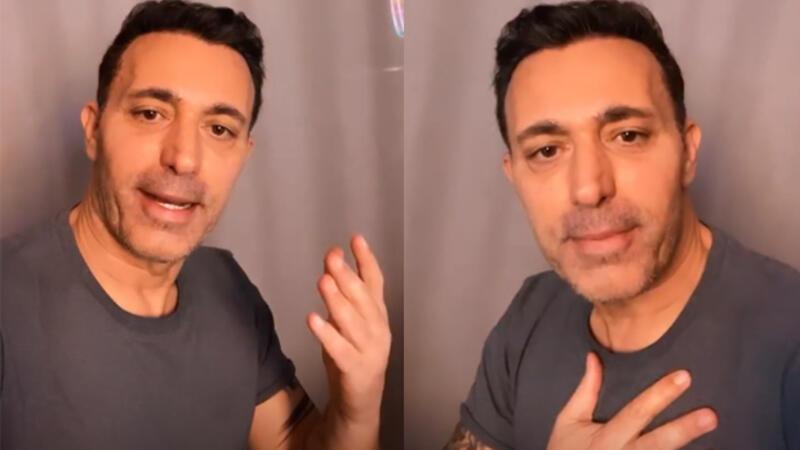 Mustafa Sandal karantinaya mı alındı? Ünlü şarkıcıdan Corona Virüs açıklaması geldi