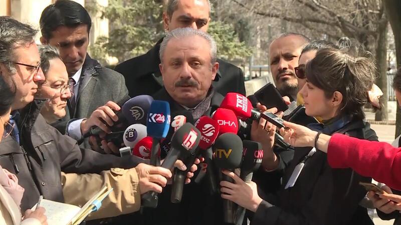 Meclis Başkanı Şentop'tan; Umreden gelen vekiller ilgili konuştu
