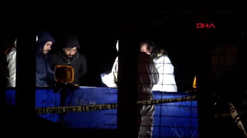 Arnavutköy'de valizde erkek cesedi bulundu