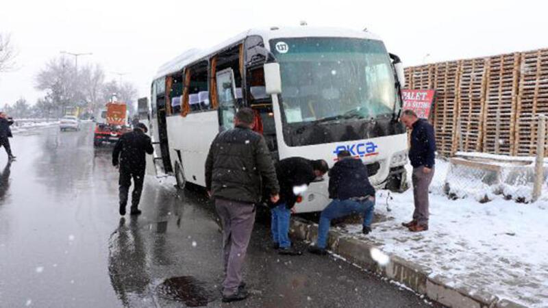Son dakika haber... Kayseri'de zincirleme kaza: 18 yaralı