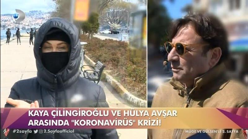 Hülya Avşar'dan eski eşi Kaya Çilingiroğlu'na tepki