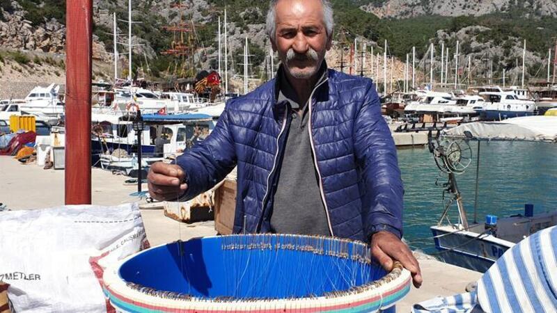 Balıkçıların 'balon balığı' hazırlığı