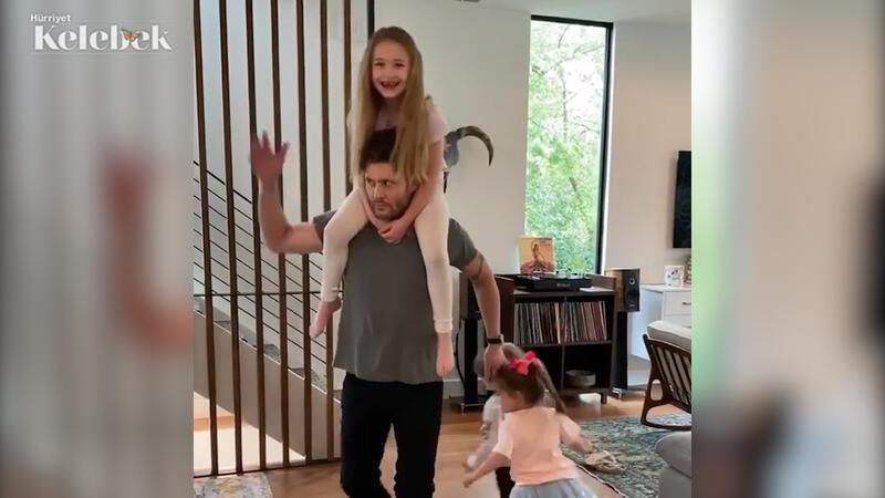 Jensen Ackles'ten Türk dansı