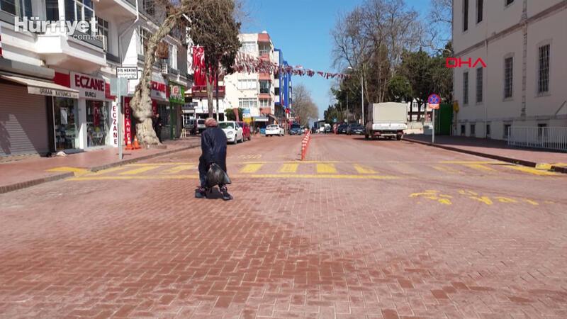 Türkiye'nin en yaşlı ili Sinop'ta sokaklar bomboş
