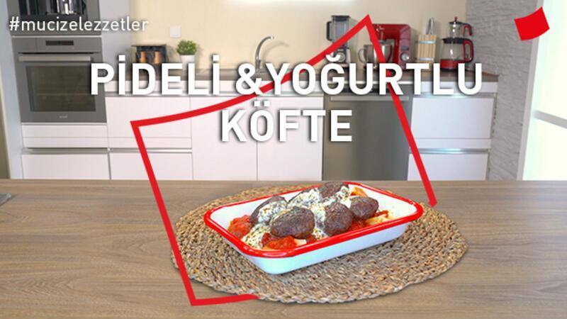 Pideli yoğurtlu köfte | Mucize Lezzetler