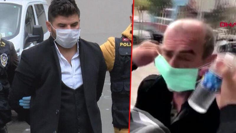 İstanbul'da utandıran görüntü; şüpheli  adliyeye sevkedildi