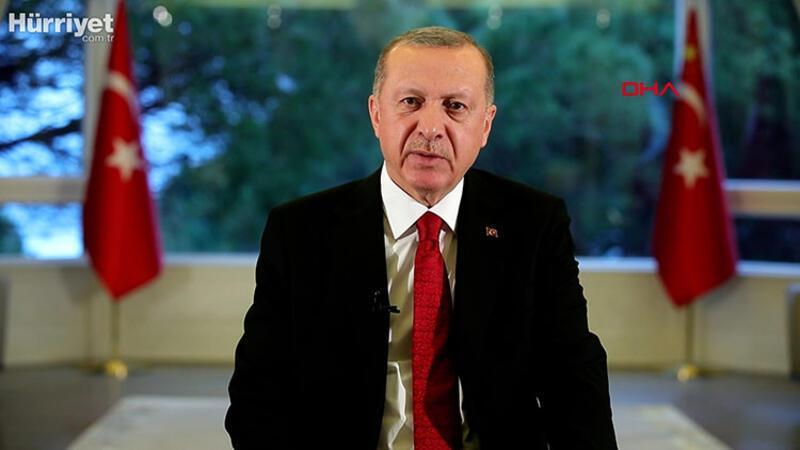 """Cumhurbaşkanı Recep Tayyip Erdoğan """"Ulusa Sesleniş"""" konuşması yaptı"""