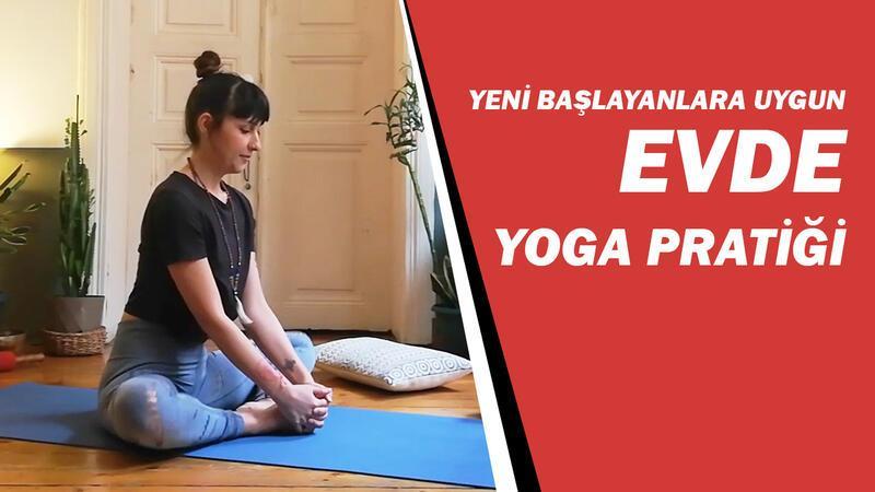 Yeni başlayanlara uygun evde yoga pratiği