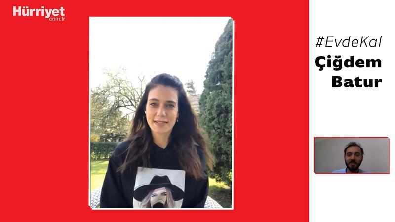 Çiğdem Batur: Karantinada olduğum için çok mutluyum