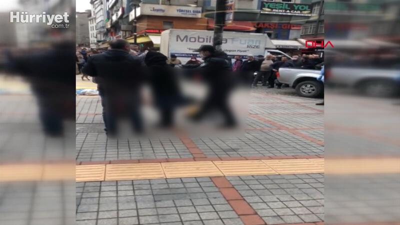 Rize'de başından vurulan kadın ağır yaralandı