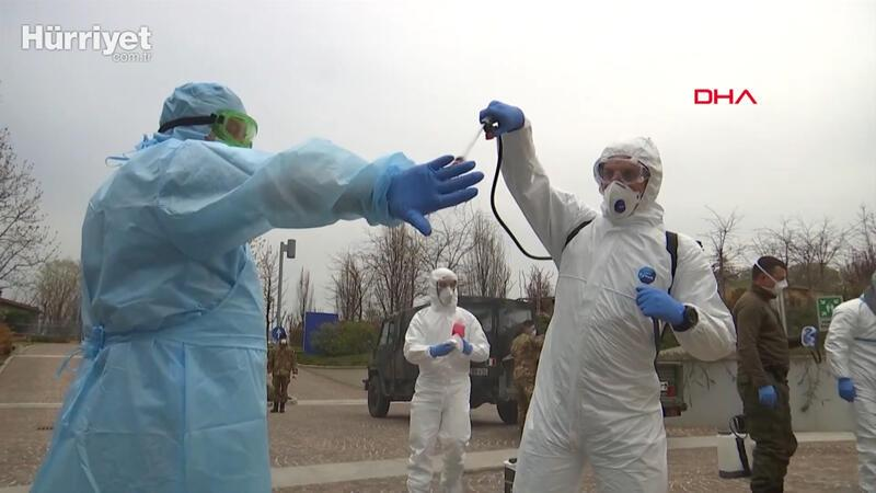 Rus ordusu İtalya'da, Bergamo'da koronavirüse karşı ortak mücadele