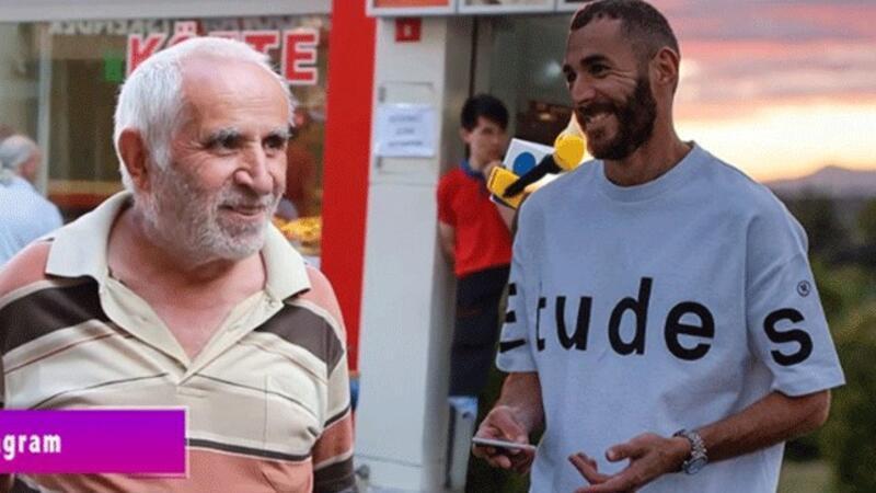 Benzema'dan ikinci 'Taksim Dayı' paylaşımı!