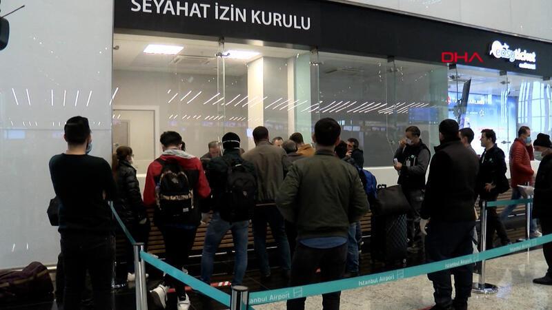 İstanbul Havalimanı'nda seyahat izin belgesi düzenlenmeye başladı