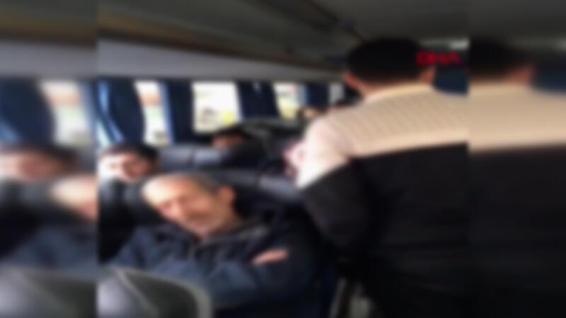 Otobüsteki 46 kişiye ceza ve 14 gün karantina