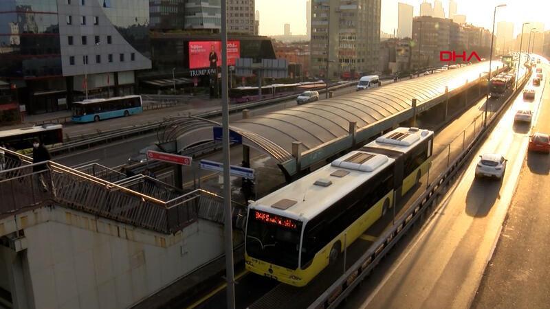 İstanbul'da toplu taşımada bugün