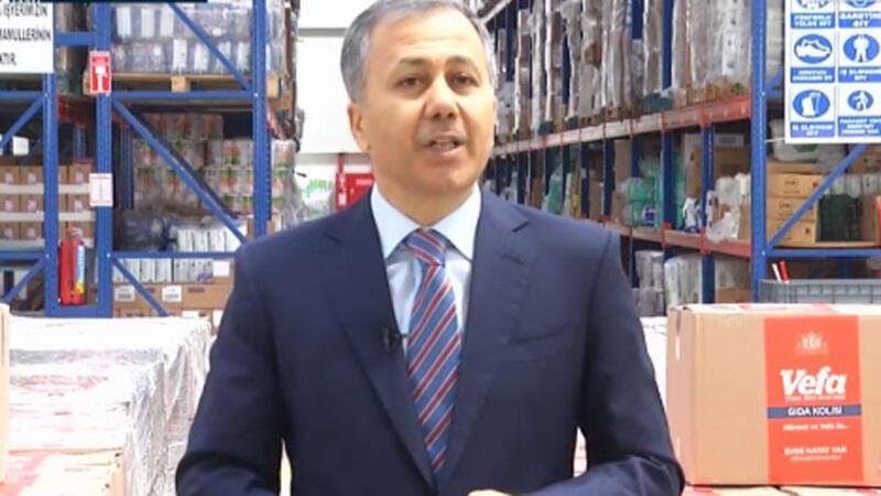 Son dakika: İstanbul Valisi Yerlikaya duyurdu: Her hafta 50 bin adrese dağıtılacak