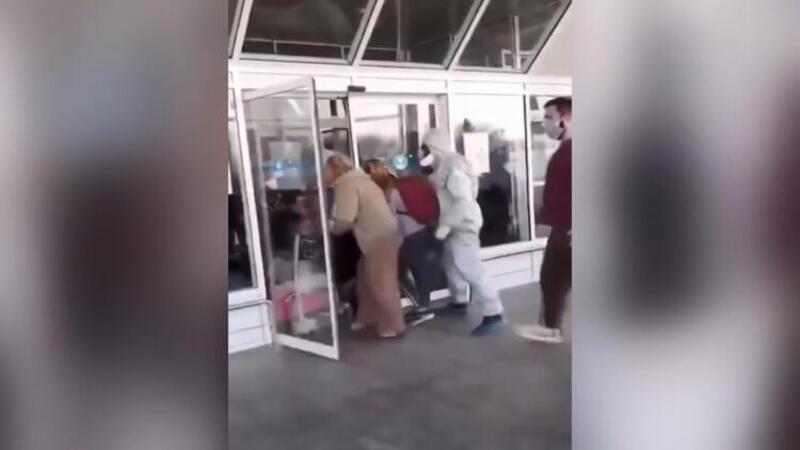 Ukrayna'da karantinaya alınmamak için böyle kaçtılar