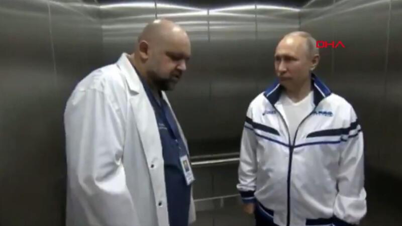 Son dakika haber... Putin ile görüşen başhekim koronavirüse yakalandı