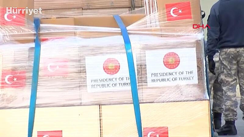 Turkey sends coronavirus aid to Italy, Spain