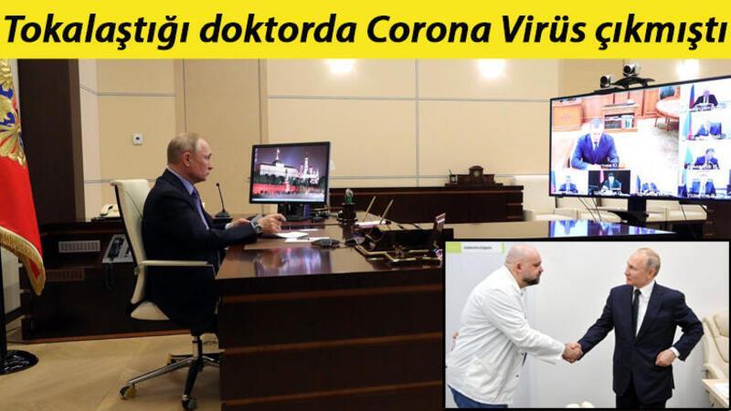 Putin, uzaktan çalışmaya başladı