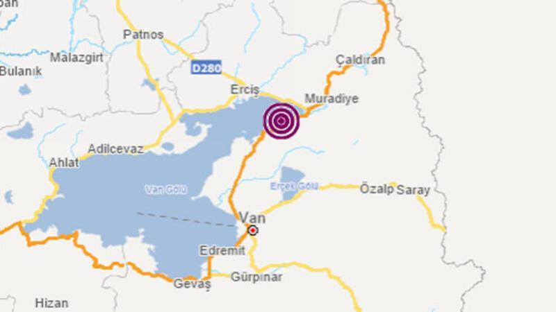 Son dakika... Van'ın Tuşba ilçesinde 4,7 büyüklüğünde deprem