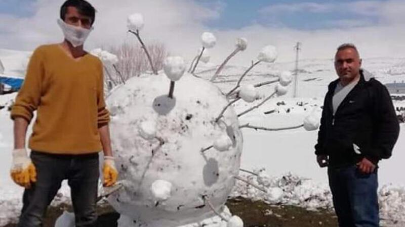 Kardan corona virüs yaptılar