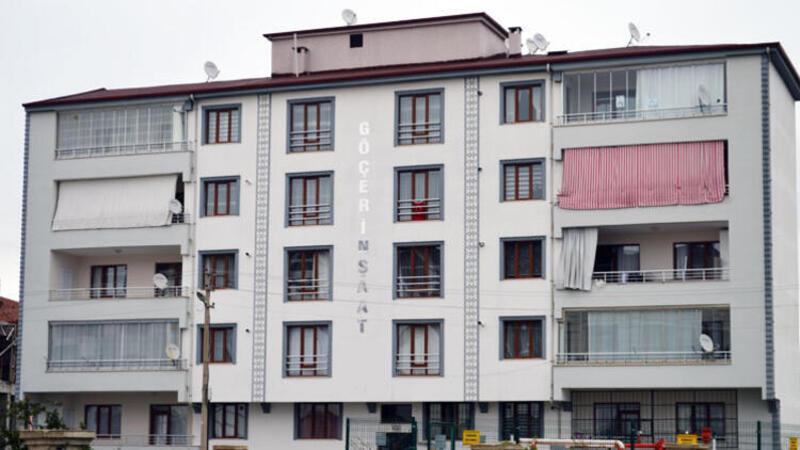 Elazığ'da 5 katlı apartman, karantinaya alındı