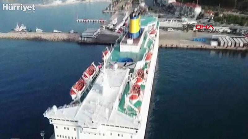 Yunanistan'da demirli gemideki 65 Türk yolcunun koronavirüs testi pozitif çıktı