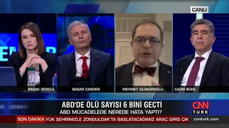 Prof. Dr. Mehmet Çilingiroğlu'nun canlı yayında işine son verildi