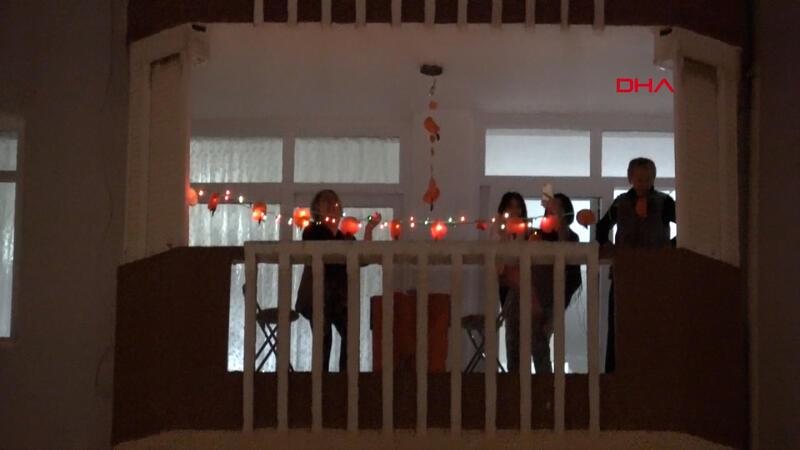 Adana's Orange Blossom Carnival celebrated from balconies due to outbreak