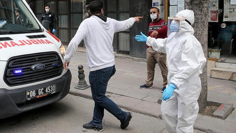 Ankara'da karantinada olduğu hastaneden kaçtı, böyle yakalandı