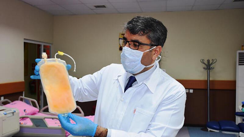 Corona Virüse karşı Çin'den sonra dünyada ilk plazma tedavisi Malatya'da yapıldı