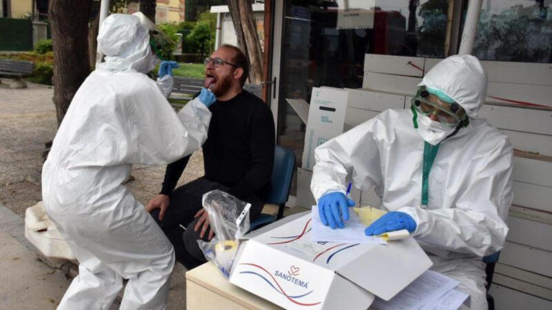 İzmir'de sokakta koronavirüs testi şaşkına çevirdi