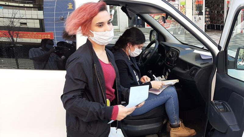 Ceza yazılan genç kız: Çekmeyin, babam görecek cezayı