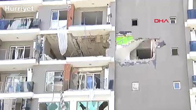 Son dakika! Esenyurt'ta binada patlama meydana geldi