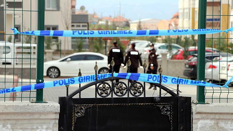 Kayseri'deki 8 katlı binada 'koronavirüs' karantinası devam ediyor