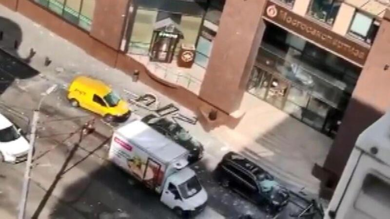 Son dakika... Rusya'da iş merkezinde patlama