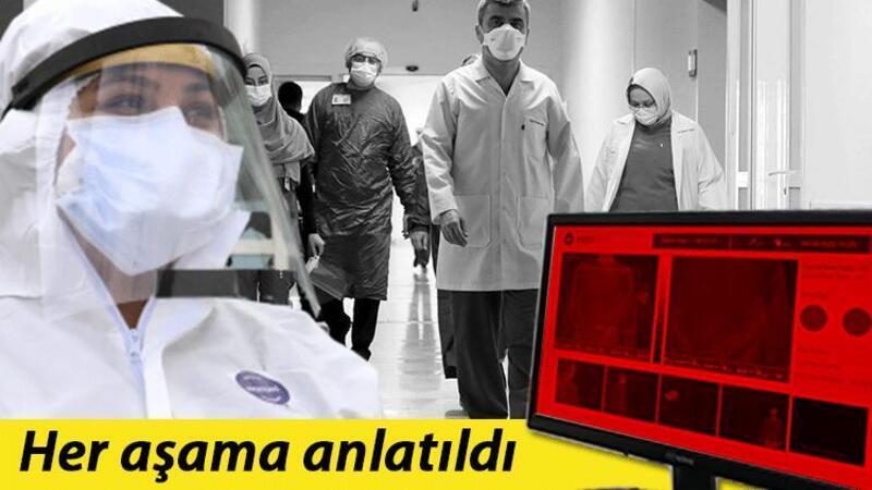 Pandemi hastanesinde koronavirüs şüphelileri bu kapıdan alınıyor