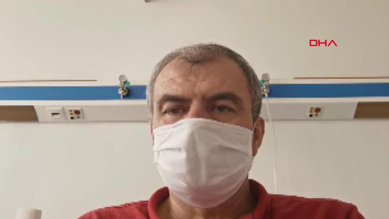 Koronavirüs hastası İl Milli Eğitim Müdürü Seyfullah Okumuş'tan iyi haber