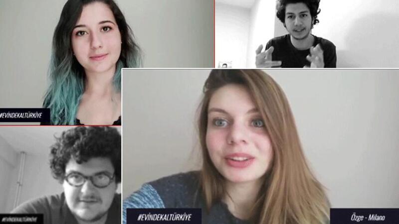 Karantina süreci biten 52 öğrenciden teşekkür videosu