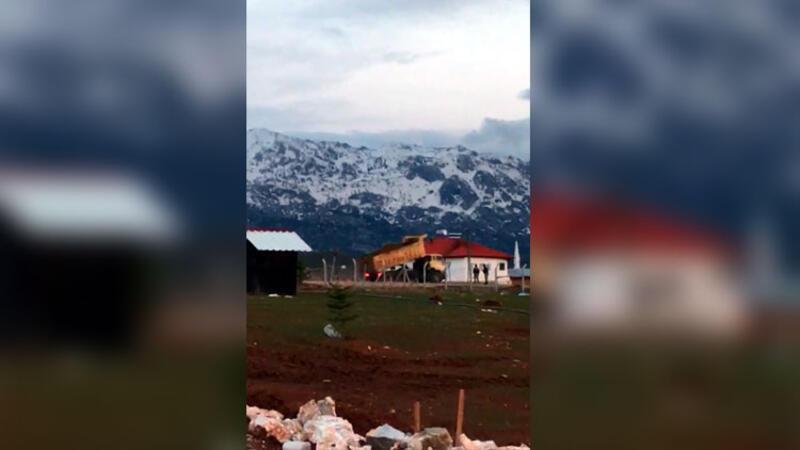 Göksun'da bir mahalle karantinaya alındı