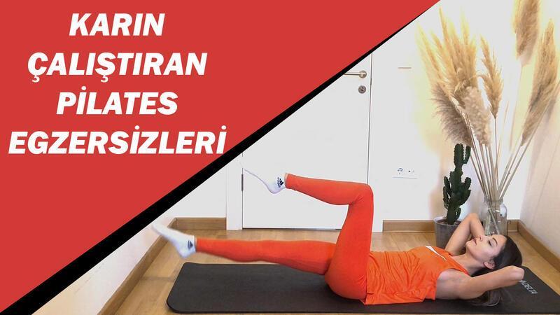 Karın çalıştıran pilates egzersizleri
