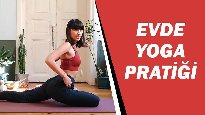 Kalçayı esnetmek için yoga pratiği