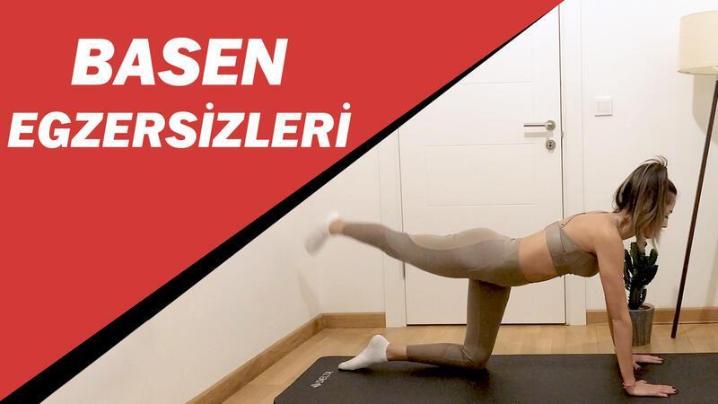 Basen ve yan kalça yakan pilates egzersizleri