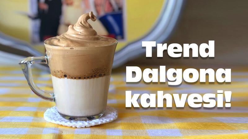 Dalgona kahvesi nasıl yapılır?